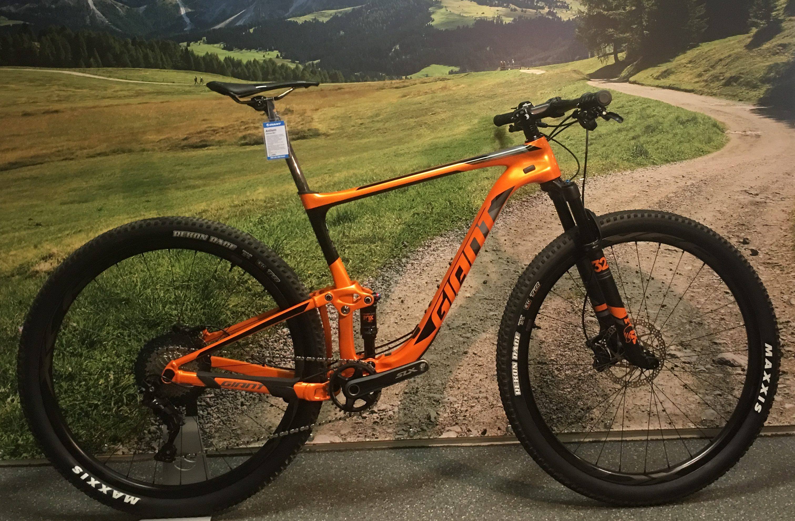 Demo Giant Anthem Advanced 29'er 1 L 2019